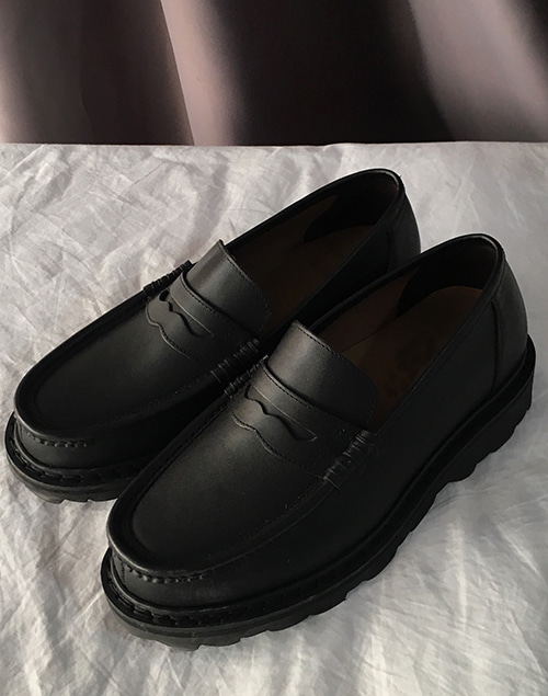 Handmade loafer shoes